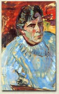 马克阿戈斯蒂尼法国画家Max Agostini (French, 1914–1997) - 柳州文铮 - 柳州文铮股票数学模型对冲基金